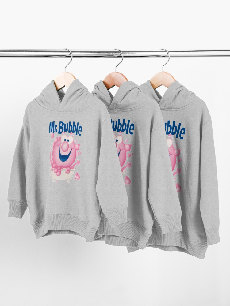 Alternate view of Mr. Bubble - Makes bath Time Fun Toddler Pullover Hoodie
