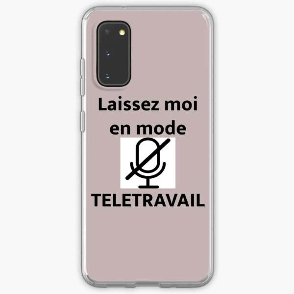 Leave me in telecommuting mode Samsung Galaxy Soft Case