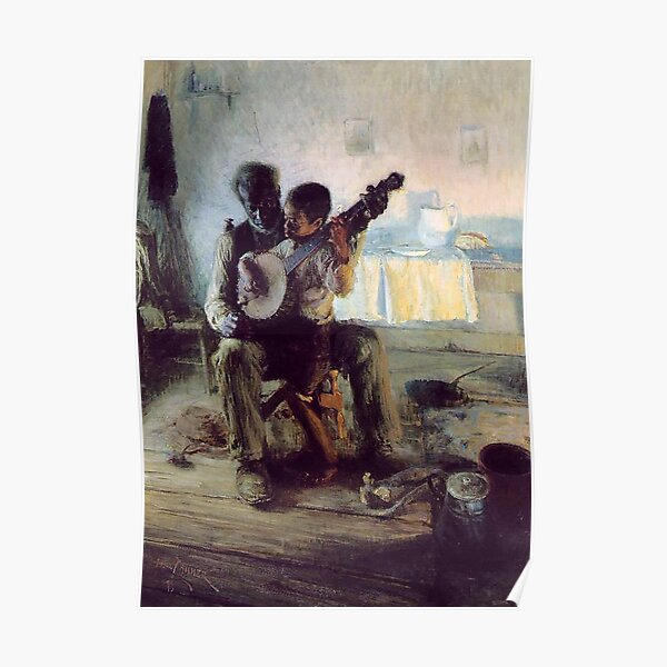 Die Banjo-Lektion - Henry Ossawa Tanner Poster