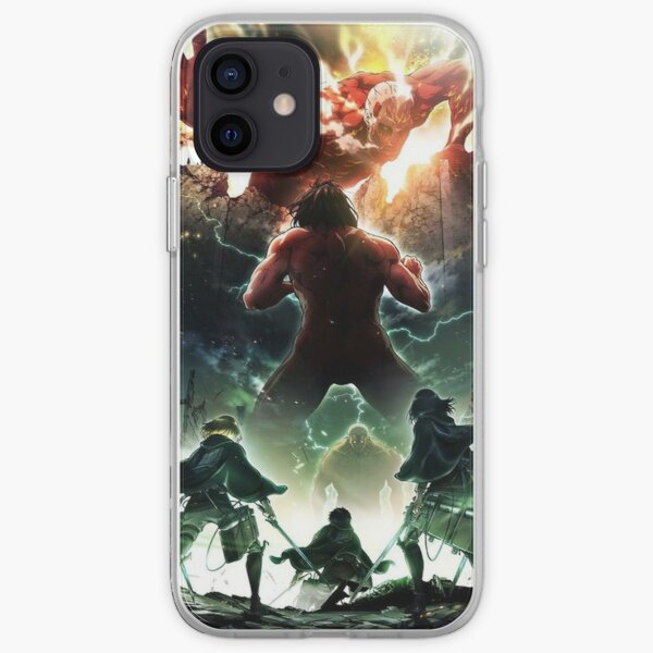Attack the titans iPhone Soft Case