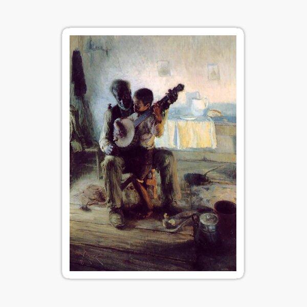 The Banjo Lesson - Henry Ossawa Tanner Sticker