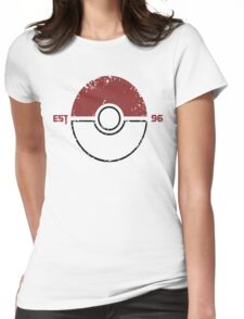 Legendary Pokemon Womens Fitted T-Shirt