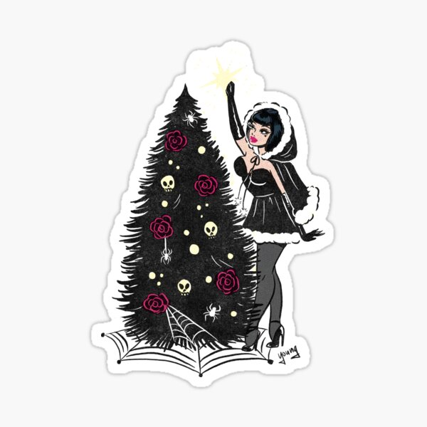 Topping the Tree Sticker