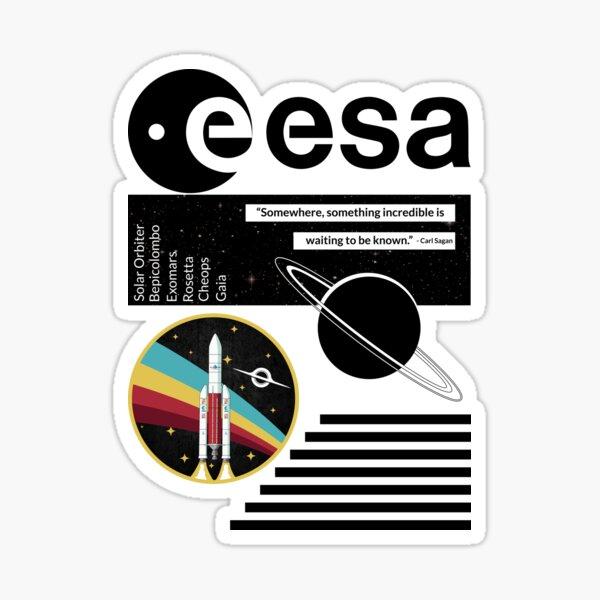 Explorer l'inconnu Sticker