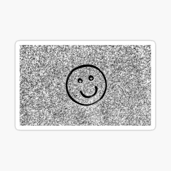 Put a Smile on Your Grave In Maple Hill Cemetery of Huntsville Alabama Sticker