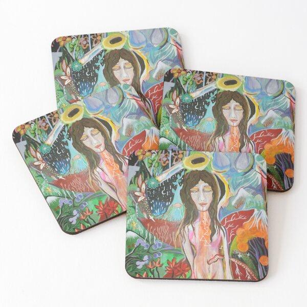 Universal Goddess Coasters (Set of 4)