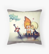 Evangeline and Tristepan <3 Throw Pillow