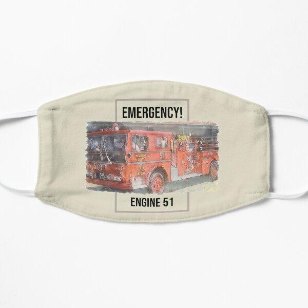 ENGINE 51 Emergency! Flat Mask