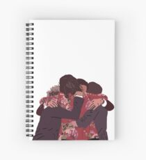 Cuaderno de espiral One Direction Group Hug 2015