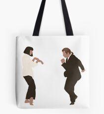 Pulp Fiction dance Tote Bag
