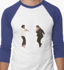 Camiseta ¾ bicolor para hombre Danza Pulp Fiction