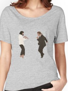 Pulp Fiction dance Women's Relaxed Fit T-Shirt
