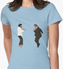 Pulp Fiction dance Women's Fitted T-Shirt