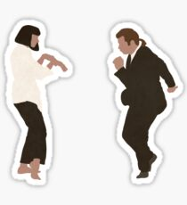 Pegatina Danza Pulp Fiction