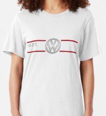 GTI white Slim Fit T-Shirt