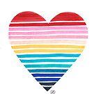 Big Heart Rainbow by NatalieBorn