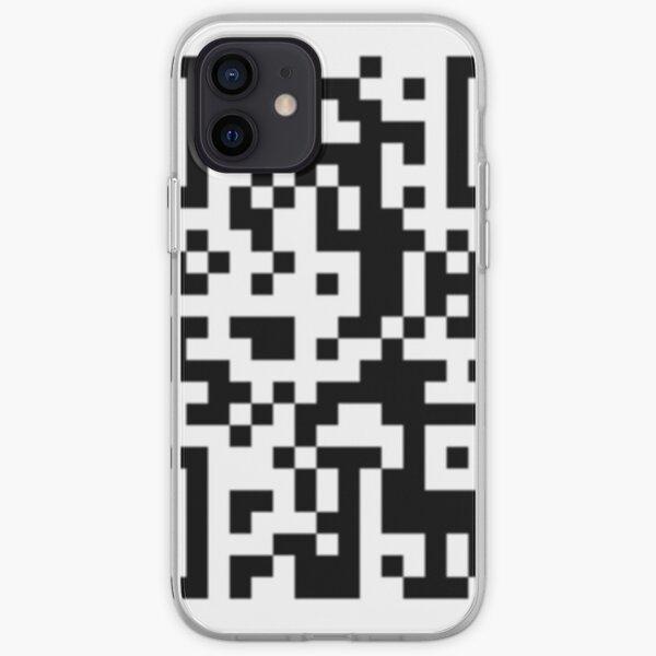 Código QR de Pornhub! Funda blanda para iPhone