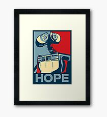 Trust in Wall-e  Framed Print