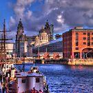 Albert Docks - Liver Building by SimplyScene