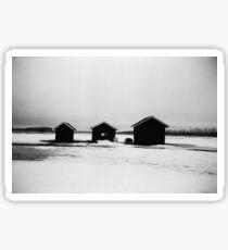Finnish landscape Sticker