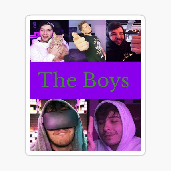 The Boys  Sticker