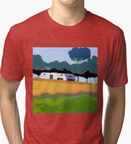 Australian Backyard - Series No.2 Tri-blend T-Shirt