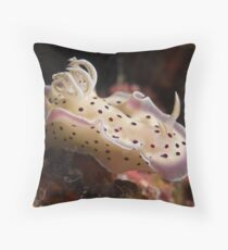 Tritos Chromodoris Throw Pillow