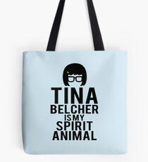 Tina Spirit Animal Tote Bag