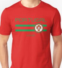 Fußball - Portugal (Home Red) Slim Fit T-Shirt