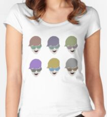 clifford color Women's Fitted Scoop T-Shirt