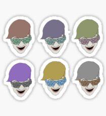 clifford color Sticker