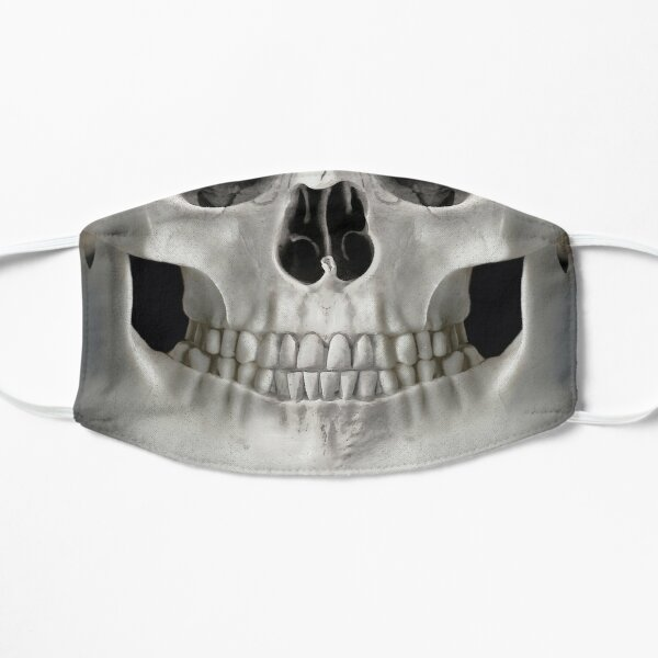 The Creepiest Smile Flat Mask