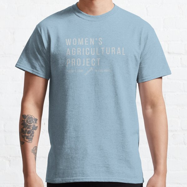 Women's Agricultural Project, light text Classic T-Shirt