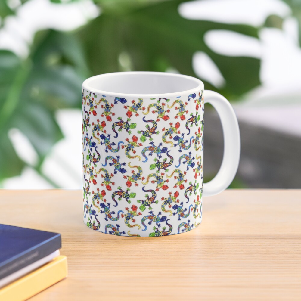 Gecko Vibrant Multi Print Mug