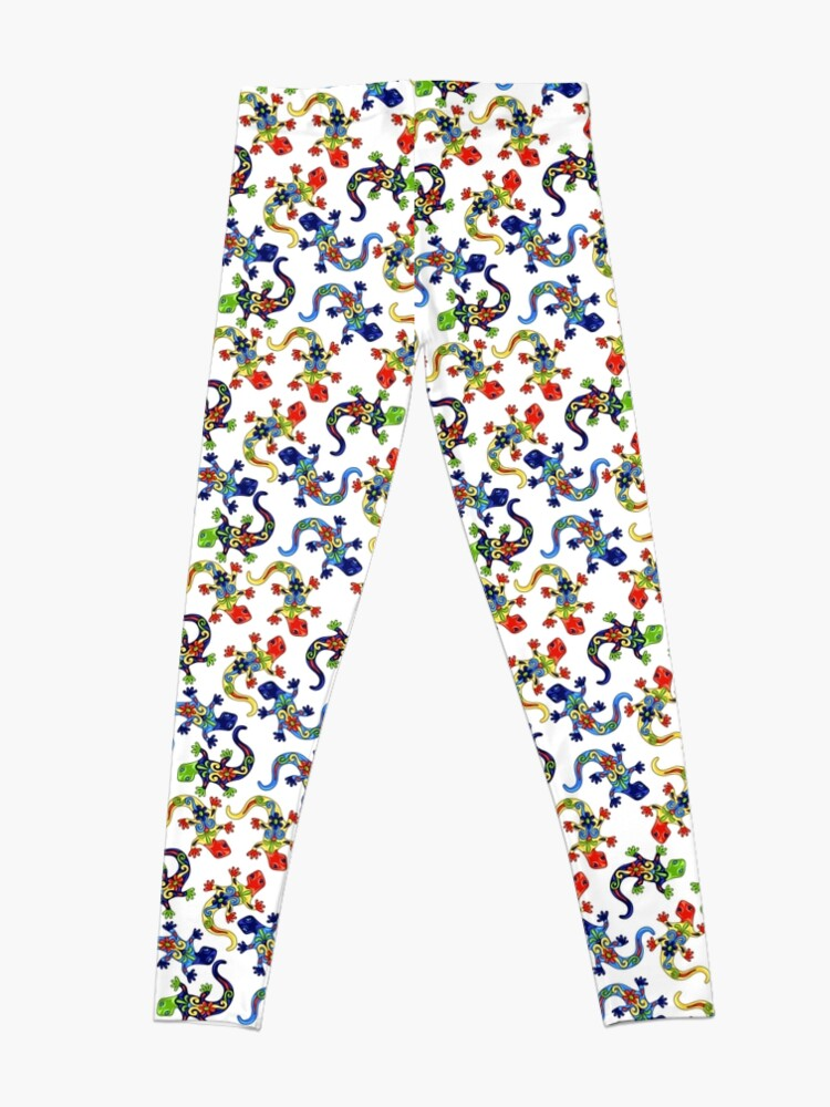 Alternate view of Gecko Vibrant Multi Print Leggings