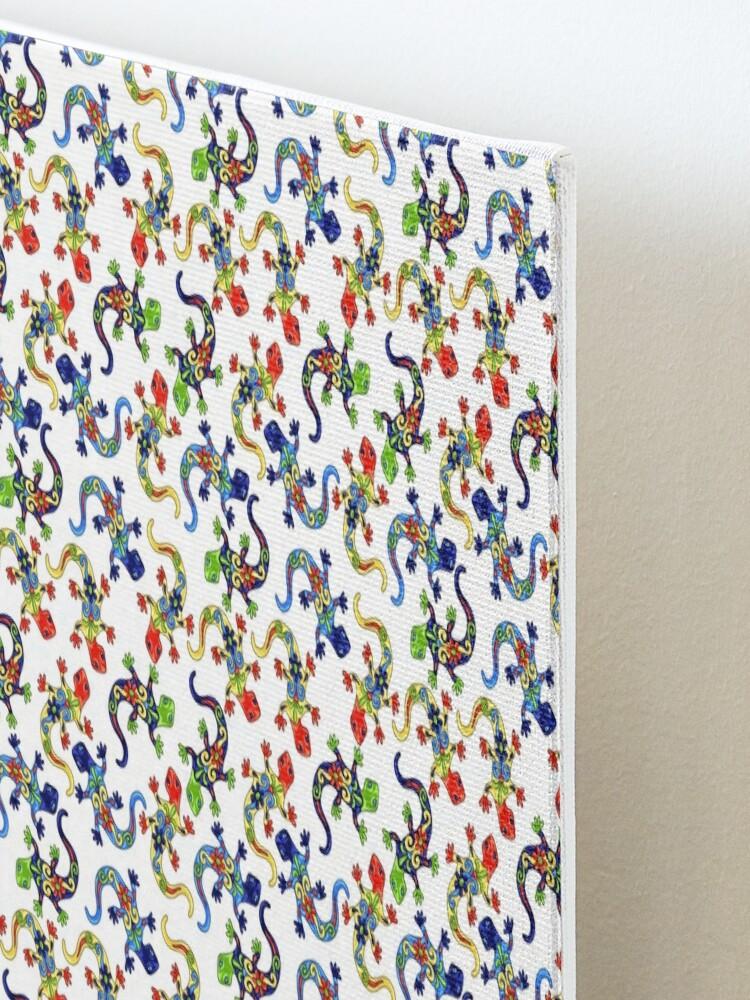 Alternate view of Gecko Vibrant Multi Print Mounted Print