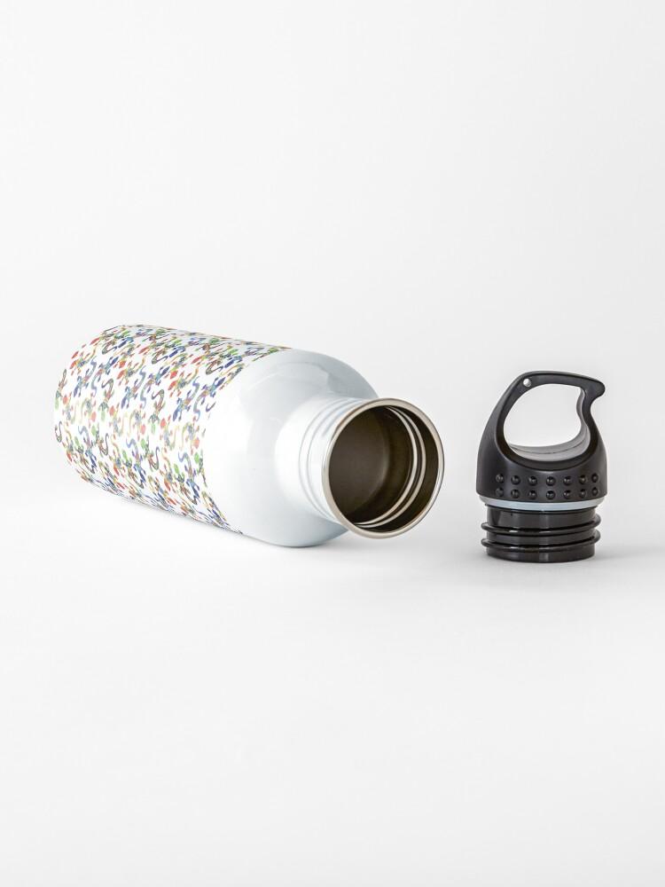 Alternate view of Gecko Vibrant Multi Print Water Bottle