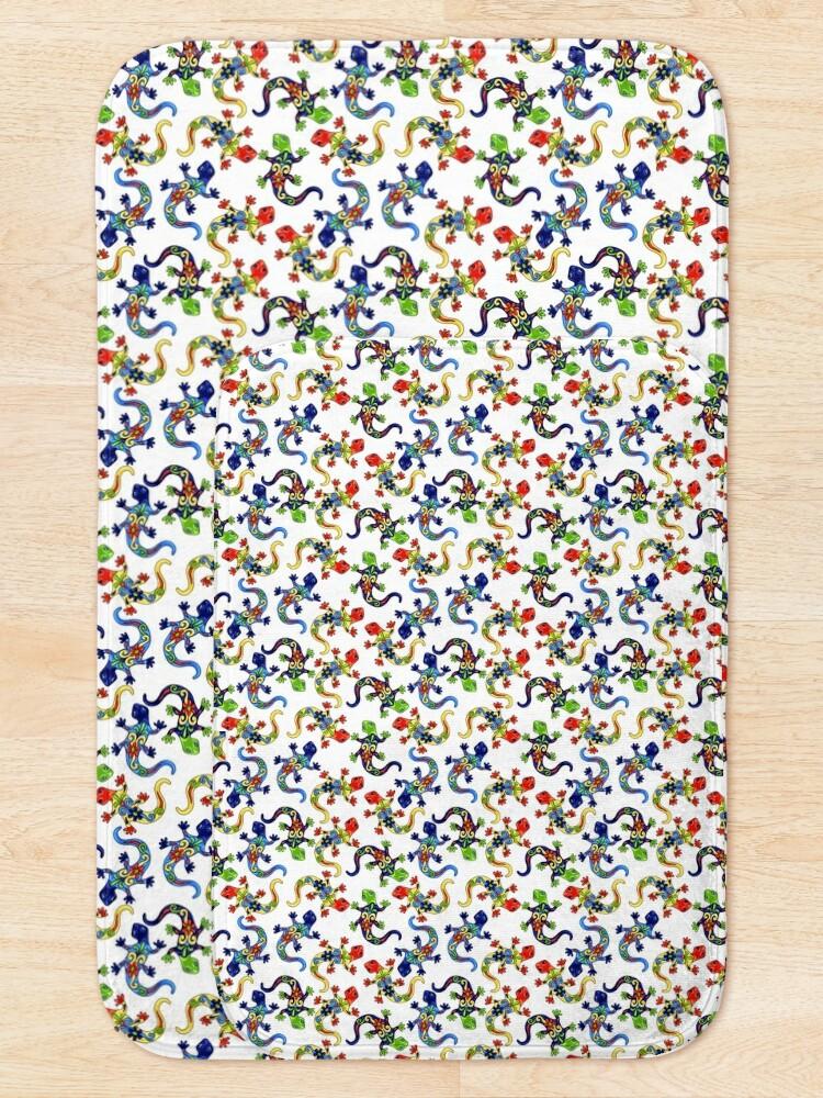 Alternate view of Gecko Vibrant Multi Print Bath Mat