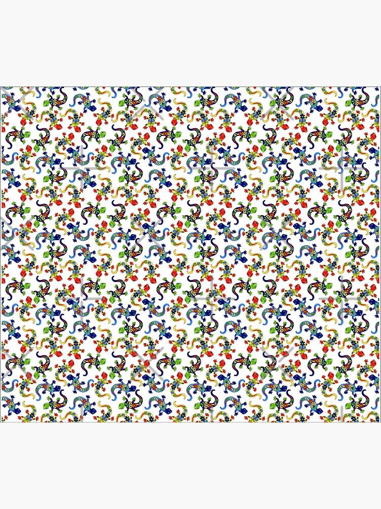 Gecko Vibrant Multi Print by snibbo71