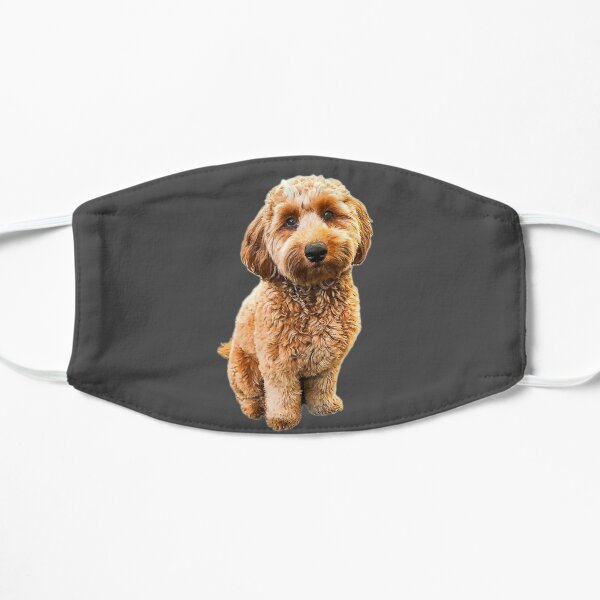 Goldendoodle Puppy Dog Labradoodle Poodle mix x Flat Mask