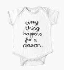 Everything Happens For A Reason Kids Clothes