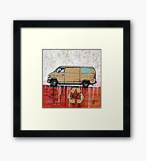 Graffiti Van Framed Print