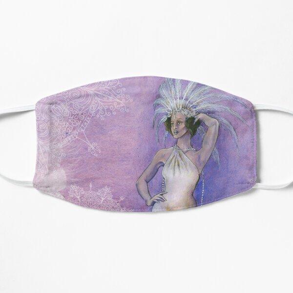 Vintage Showgirl Flat Mask