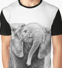 Baby African Elephant Graphic T-Shirt