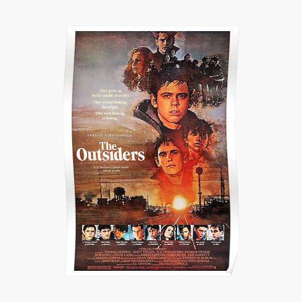 The Outsiders (1983) Poster