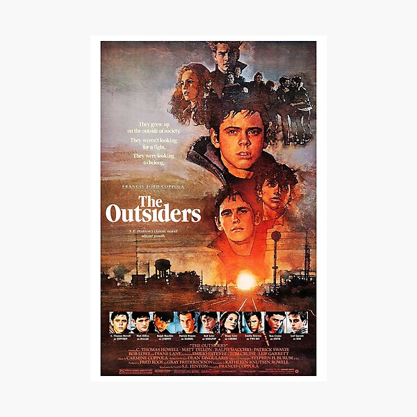 The Outsiders (1983) Photographic Print
