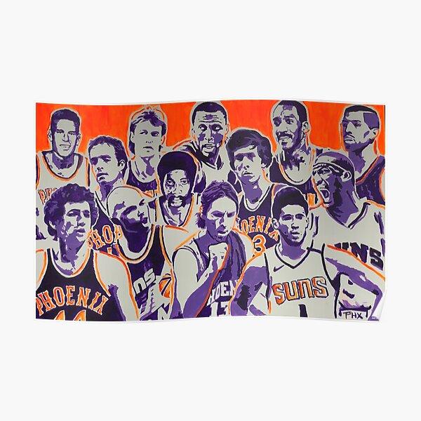 Phoenix Suns Greats Poster