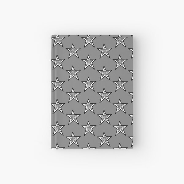 Three Star Design by Vix  Hardcover Journal