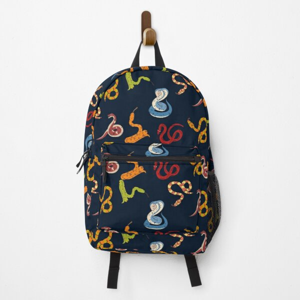 Cute Snakes Pattern Backpack
