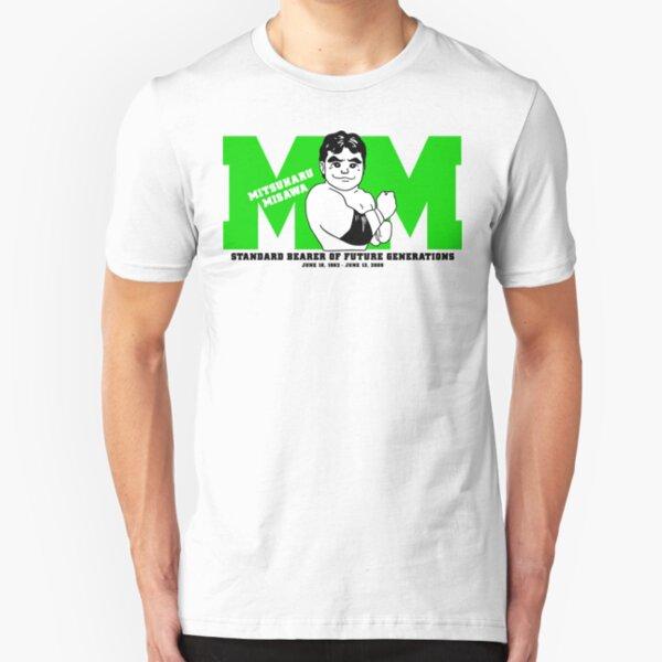 Mitsuharu Misawa - Standard Bearer Slim Fit T-Shirt